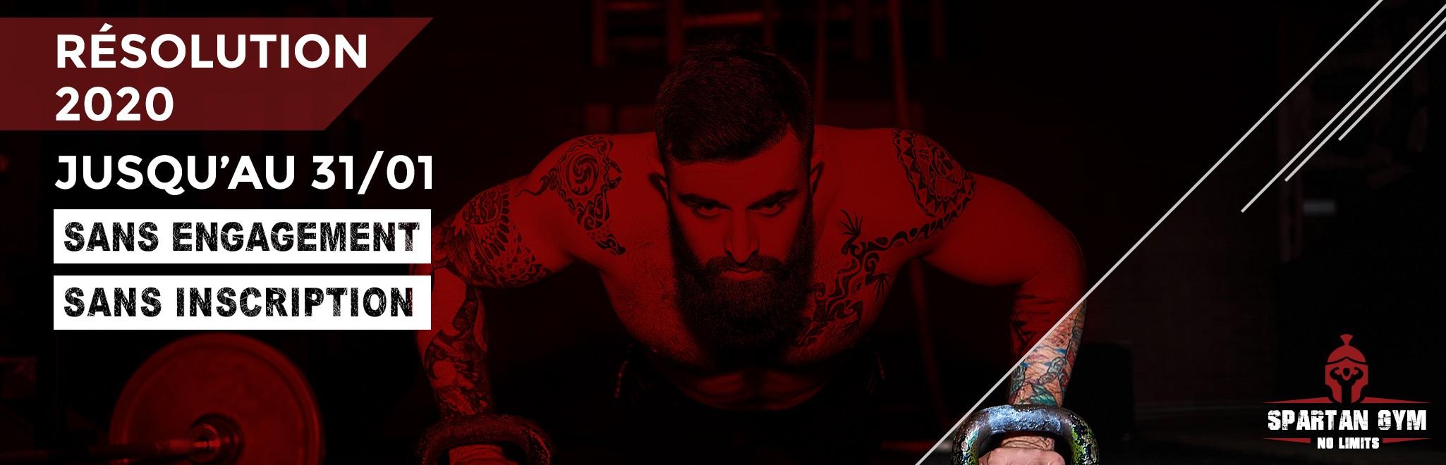Résolution 2020 Spartan gym